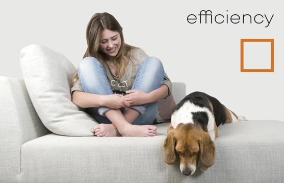 Fácil Limpieza · Prestaciones · Sostenibilidad